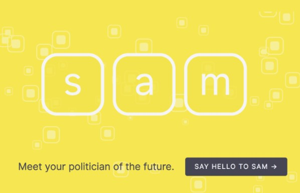 SAM, an AI from New Zealand